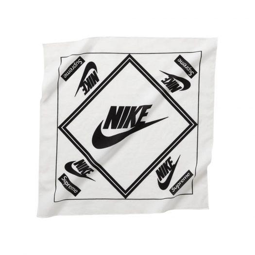 Supreme Nike Bandana White