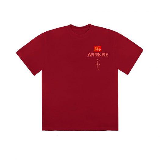Travis Scott x McDonald's Apple Pie T-Shirt Red
