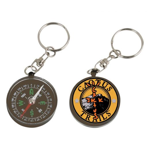 Travis Scott Cactus Trails Compass Keychain Multi