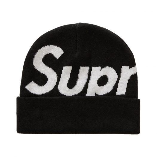 Supreme Big Logo Beanie (FW20) Black