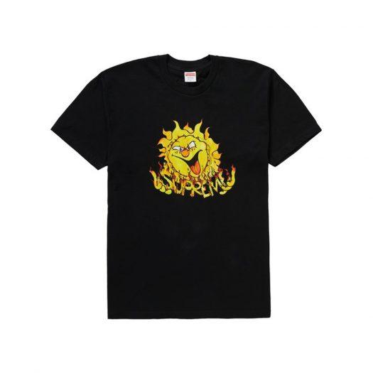 Supreme Sun Tee Black