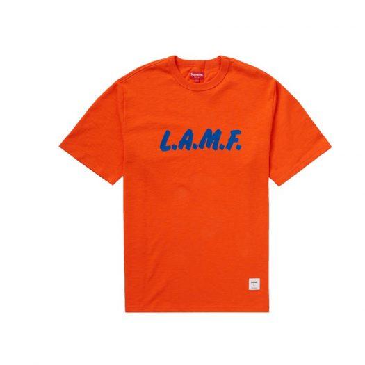 Supreme LAMF S/S Top Orange