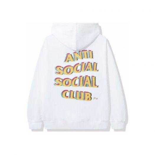 Anti Social Social Club Stir Crazy Hoodie White