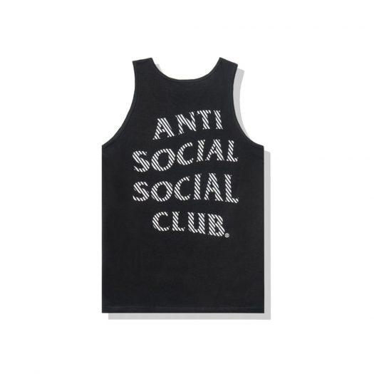 Anti Social Social Club Goodbye Summer Tank Tank Black