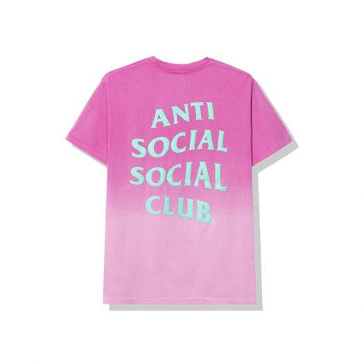 Anti Social Social Club Gone Tee Pink