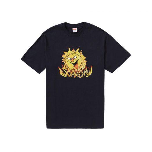 Supreme Sun Tee Navy