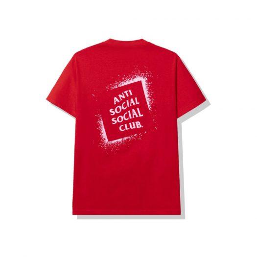 Anti Social Social Club Toy Tee Red