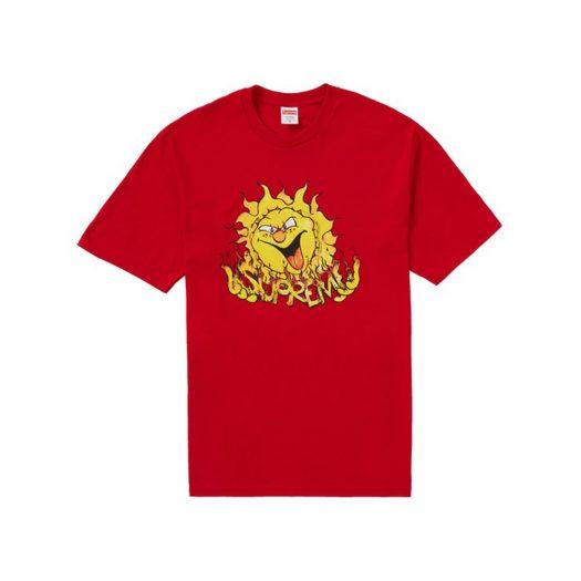 Supreme Sun Tee Red