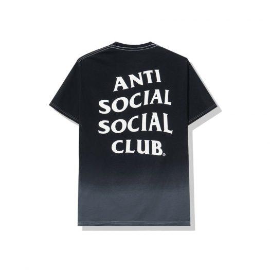 Anti Social Social Club Gone Tee Black