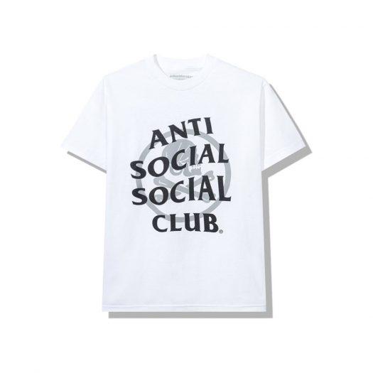 Anti Social Social Club x Neighborhood Cambered White Tee Tee White