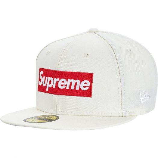Supreme World Famous Box Logo New Era White