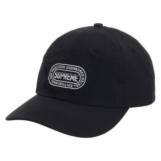 Supreme Precision 6-Panel Black