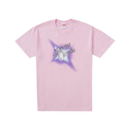Supreme Supreme Clientele Tee Light Pink