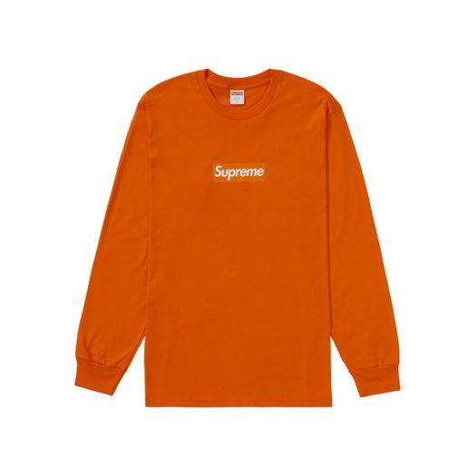Supreme Box Logo L/S Tee Orange