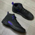 Jordan 12 Retro Black Dark Concord (GS)