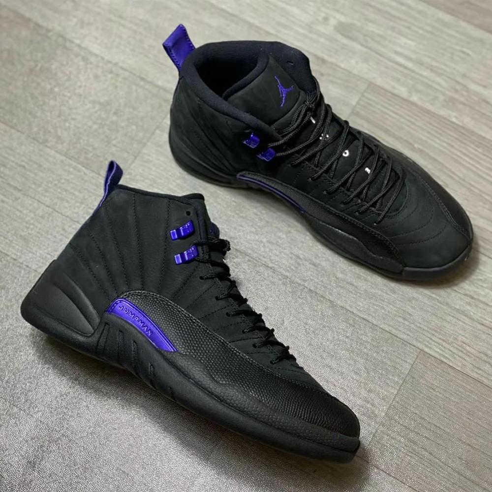Jordan 12 Retro Black Dark Concord