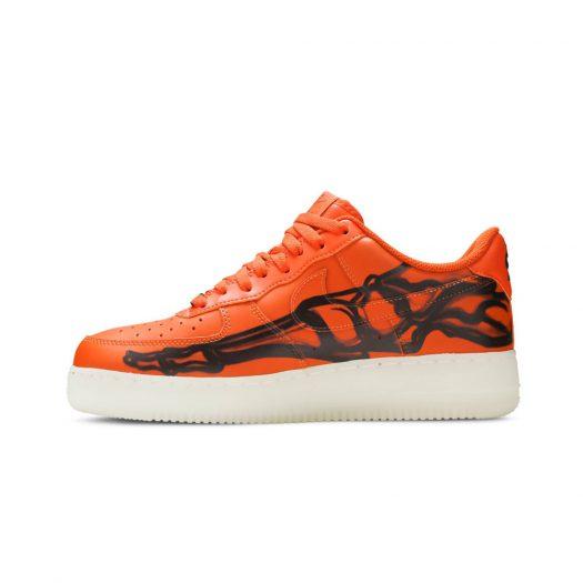 Nike Air Force 1 Low Orange Skeletonv