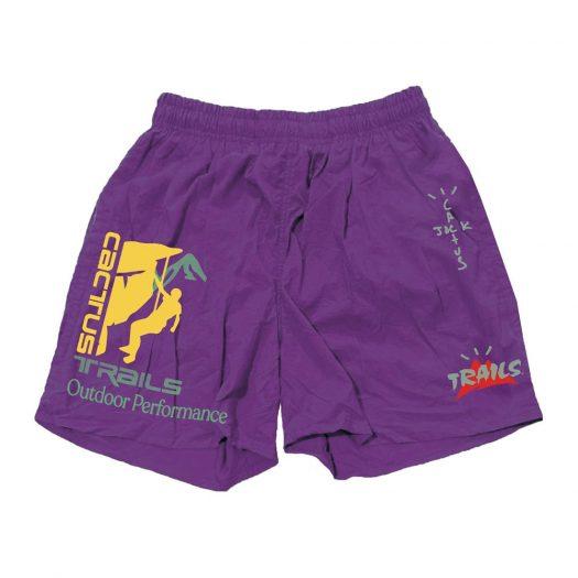 Travis Scott Climb Shorts Purple