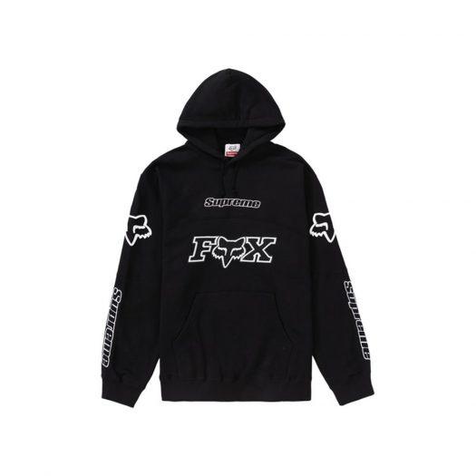 Supreme Fox Racing Hooded Sweatshirt Black