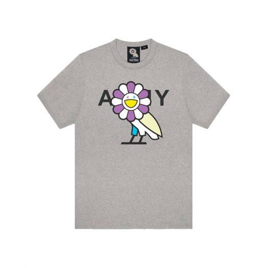 Takashi Murakami x OVO Surplus Flower Owl Tee Heather Grey