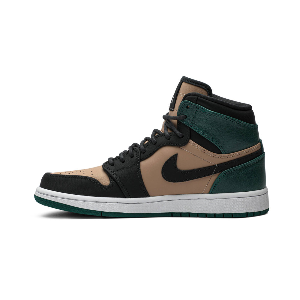 Jordan 1 Retro High Bio Beige Anthracite Mystic Green (W)