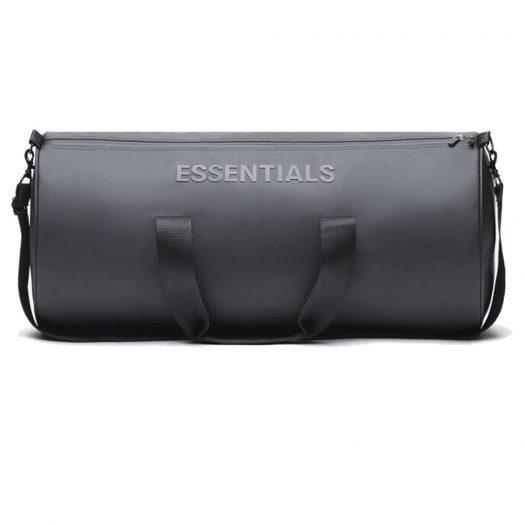 Fear Of God Essentials Duffel Bag Dark Slate/stretch Limo/black