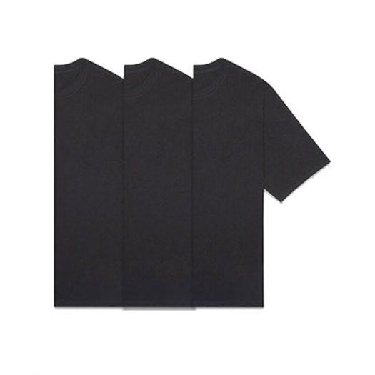 Fear Of God Essentials 3-pack T-shirts Dark Slate/stretch Limo/black