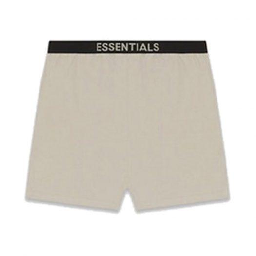 Fear Of God Essentials Lounge Shorts Tan
