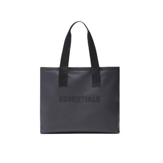 Fear Of God Essentials Tote Bag Dark Slate/stretch Limo/black