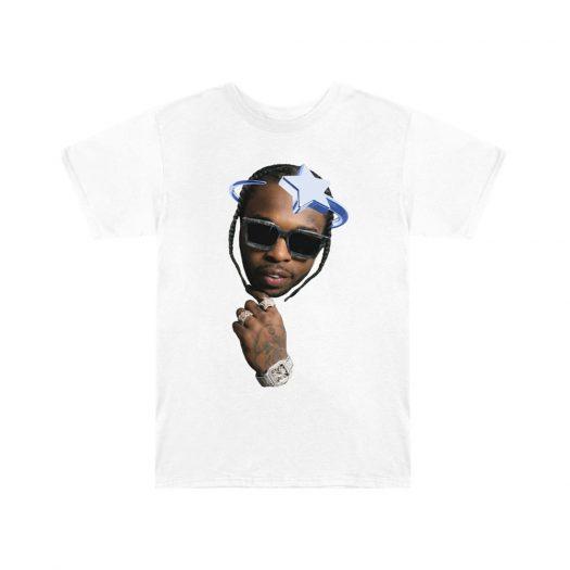 Pop Smoke x Vlone Halo T-Shirt White