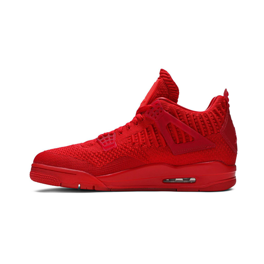Jordan 4 Retro Flyknit Red