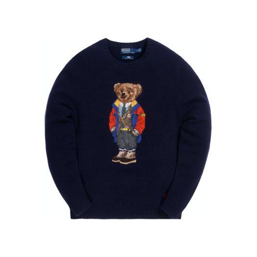 Kith x Polo Ralph Lauren Outdoor Bear Crewneck Navy