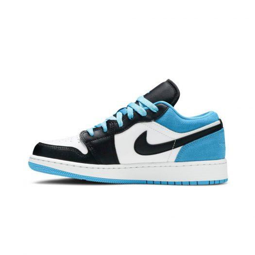 Jordan 1 Low Laser Blue (GS)