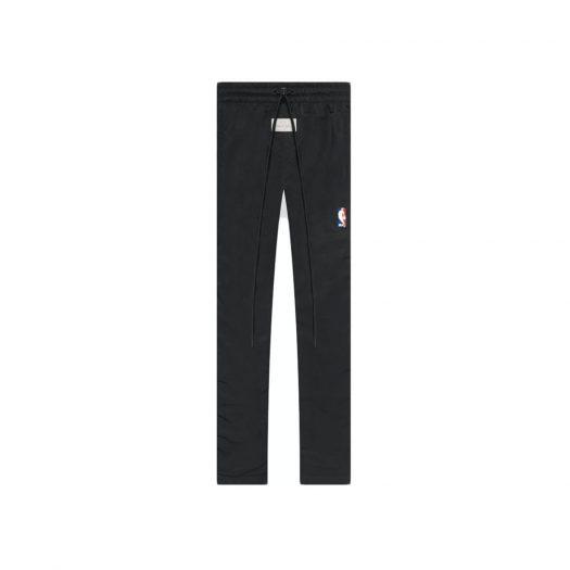 Fear Of God X Nike Nylon Warm Up Pants Off Noir