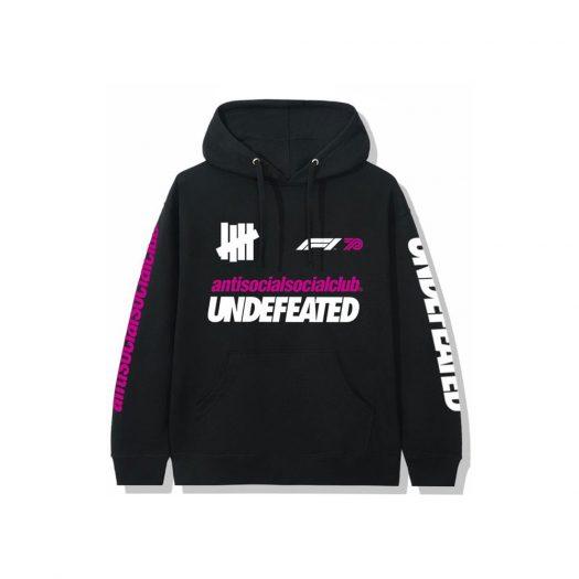 Anti Social Social Club UNDFTD X F1 Hoodie Black