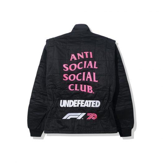 Anti Social Social Club UNDFTD X F1 Jacket Black