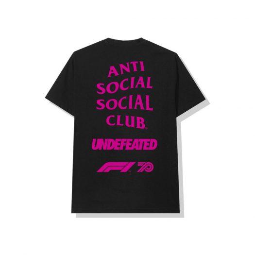 Anti Social Social Club UNDFTD X F1 Tee Black