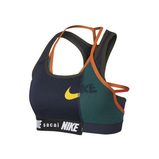 Nike x Sacai Sports Bra Navy/Green