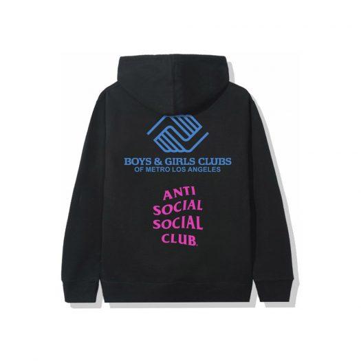 Anti Social Social Club x BGCMLA Hoodie Black