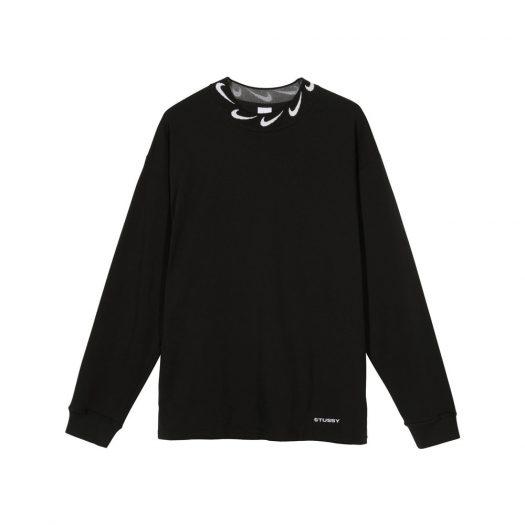 Nike x Stussy NRG BR LS Knit Top Black