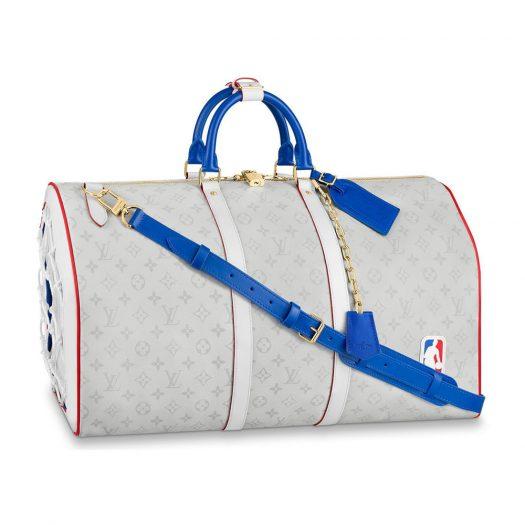 Louis Vuitton x NBA Basketball Keepall 55 Antartica
