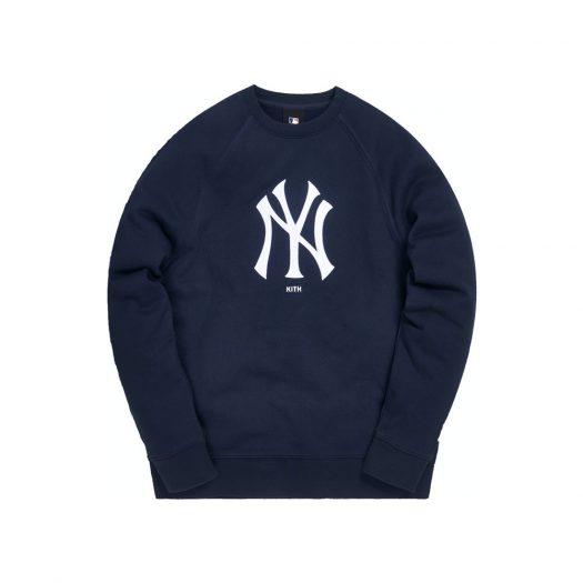 Kith For Major League Baseball New York Yankees Crewneck Navy/White