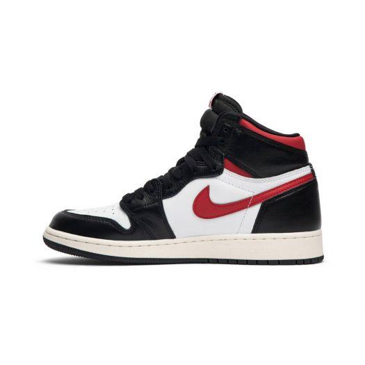 Jordan 1 Retro High Black Gym Red (GS)