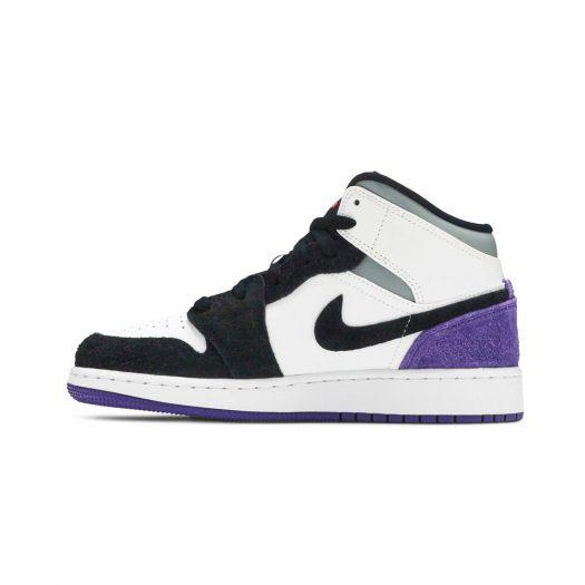 Jordan 1 Mid SE Purple (GS)