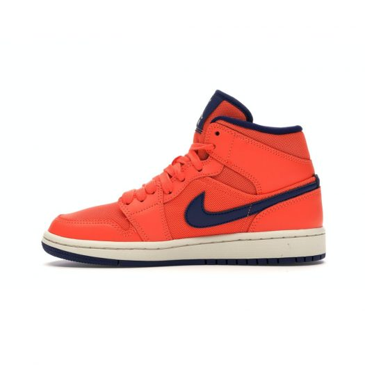 Jordan 1 Mid Turf Orange Blue Void (W)