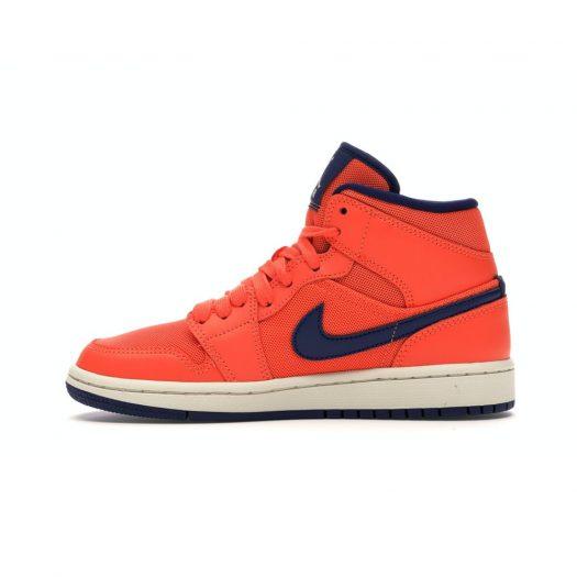 Jordan 1 Mid Turf Orange Blue Void (W)