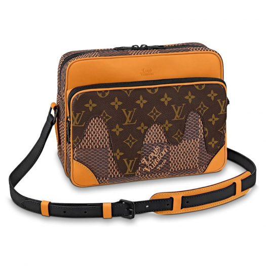 Louis Vuitton x Nigo Nil Messenger Damier Ebene Giant Brown