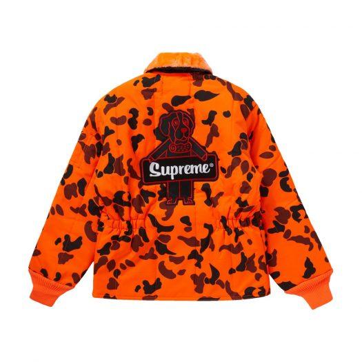 Supreme RefrigiWear Insulated Iron-Tuff Jacket Orange Camo