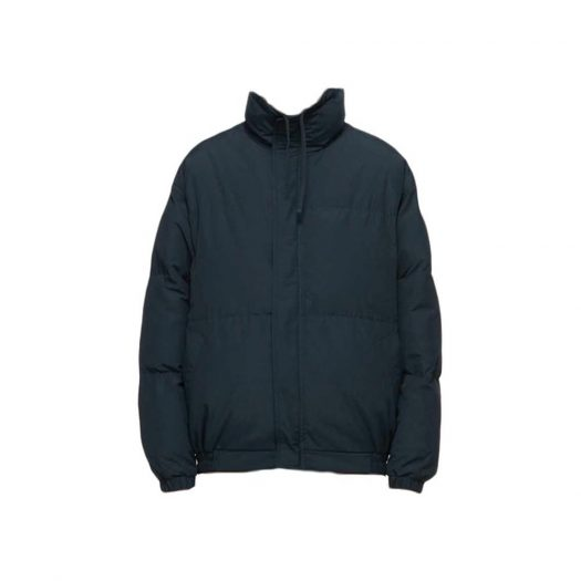 Fear Of God Essentials X Ssense Puffer Jacket Dark Navy