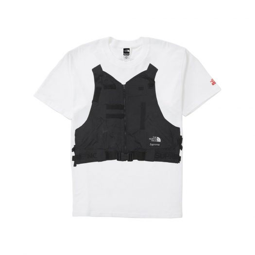 Supreme The North Face RTG Tee White